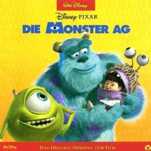 Die Monster AG, 1 Audio-CD, Walt Disney
