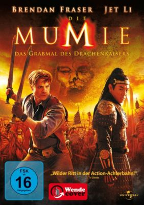 Die Mumie 3, Jet Li,Maria Bello,John Hannah Brendan Fraser
