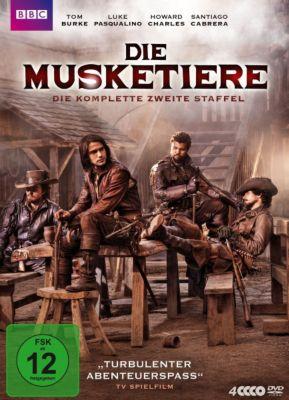 Die Musketiere - Staffel 2, Luke Pasqualino, Howard Charles, Santiago Cabrera
