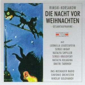 Die Nacht Vor Weihnachten, Das Moskauer Radio Sinf.Orch.