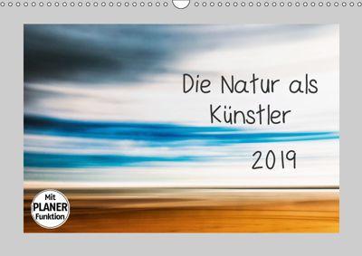 Die Natur als Künstler (Wandkalender 2019 DIN A3 quer), Kirsten Karius