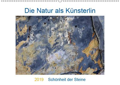 Die Natur als Künstlerin - Schönheit der Steine (Wandkalender 2019 DIN A2 quer), Viktoria Baier