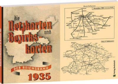 Die Netzkarten und Bezirkskarten der Deutschen Reichsbahn - Gesellschaft (DR-G) 1935 -  pdf epub