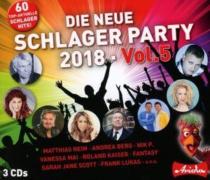 Die Neue Schlager Party Vol. 5 (2018), Various