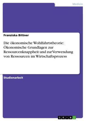 Die ökonomische Wohlfahrtstheorie: Ökonomische Grundlagen zur Ressourcenknappheit und zur Verwendung von Ressourcen im Wirtschaftsprozess, Franziska Bittner