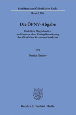 Die ÖPNV-Abgabe., Denise Gruber