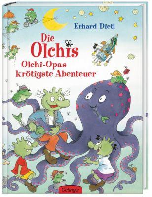 Die Olchis Band 5: Olchi-Opas krötigste Abenteuer, Erhard Dietl