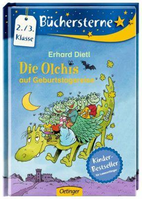 Die Olchis für Erstleser Band 4: Die Olchis auf Geburtstagsreise, Erhard Dietl
