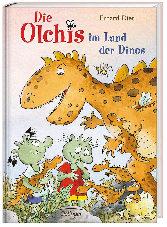 Die Olchis Im Land Der Dinos Buch Versandkostenfrei Bei