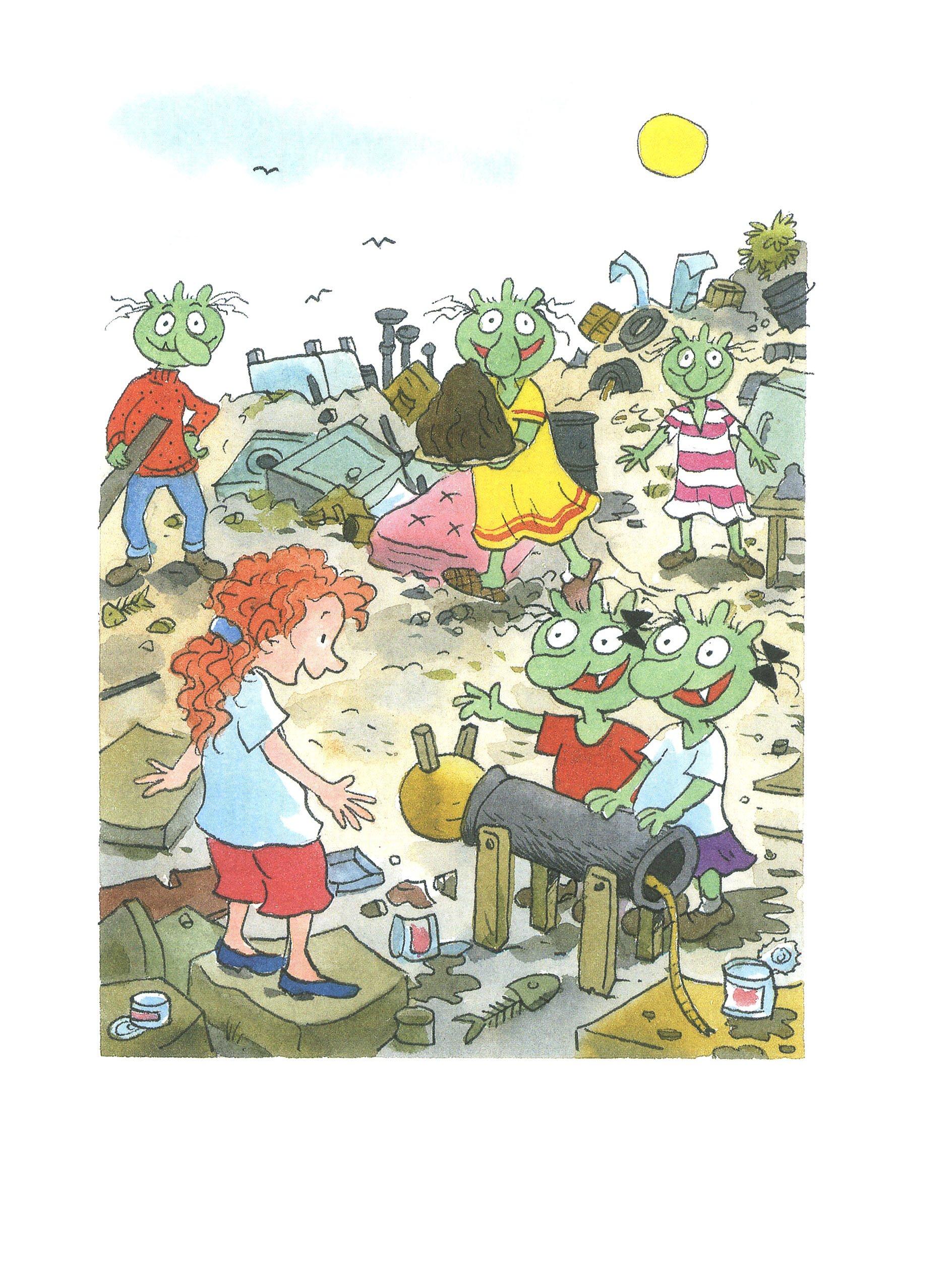 Die Olchis Kinderroman Band 5 Die Olchis Und Die