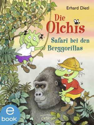 Die Olchis-Kinderroman Band 8: Safari bei den Berggorillas, Erhard Dietl