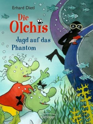 Die Olchis-Kinderroman Band 9: Jagd auf das Phantom, Erhard Dietl