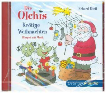 Die Olchis. Krötige Weihnachten, 1 Audio-CD, Erhard Dietl