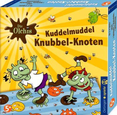 Die Olchis Kuddelmuddel Knubbel-Knoten (Kinderspiel), Erhard Dietl