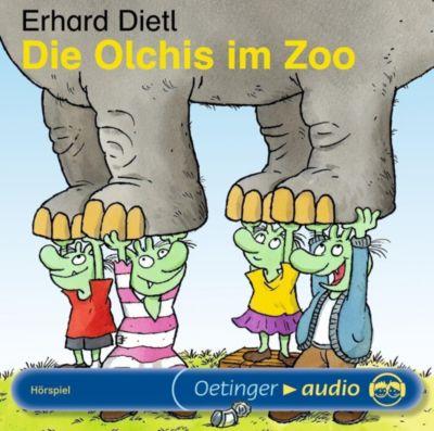 Die Olchis - Sonne, Mond und Sterne Band 5: Die Olchis im Zoo (1 Audio-CD), Erhard Dietl