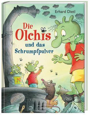 Die Olchis und das Schrumpfpulver, Erhard Dietl