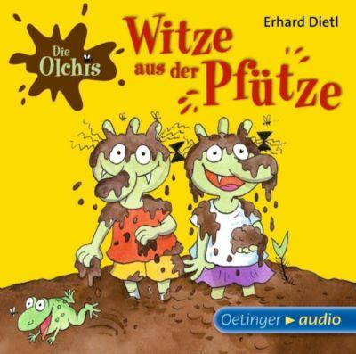 Die Olchis - Witze aus der Pfütze, 1 Audio-CD, Erhard Dietl