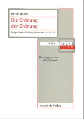 Die Ordnung der Ordnung, Harald Bluhm