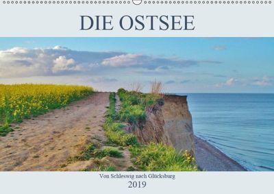 Die Ostsee - von Schleswig nach Glücksburg (Wandkalender 2019 DIN A2 quer), Andrea Janke