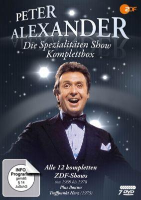 Die Peter Alexander Spezialitäten Show - Komplettbox, Peter Alexander