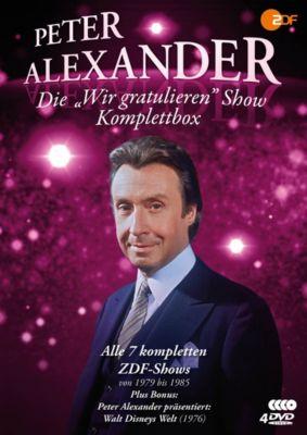 Die Peter Alexander 'Wir gratulieren' Show - Komplettbox, Peter Alexander