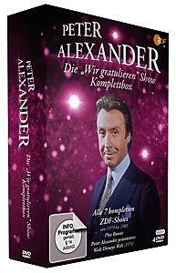 Die Peter Alexander 'Wir gratulieren' Show - Komplettbox - Produktdetailbild 1