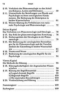 Die Phänomenologie und die Fundamente der Wissenschaften - Produktdetailbild 3