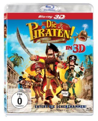 Die Piraten: Ein Haufen merkwürdiger Typen - 3D-Version