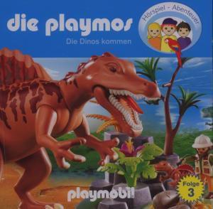 Die Playmos 03: Die Dinos kommen, Die Playmos