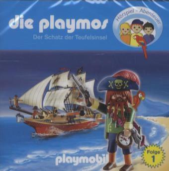 Die Playmos - Der Schatz der Teufelsinsel, 1 Audio-CD, Die Playmos