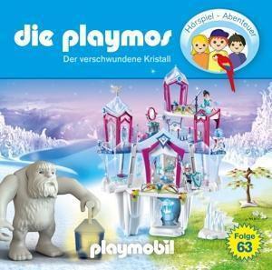 Die Playmos - Der verschwundene Kristall, 1 Audio-CD, Die Playmos