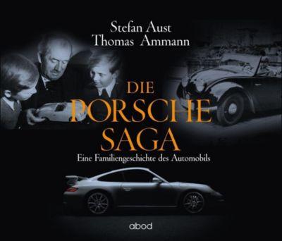 Die Porsche-Saga, 6 Audio-CDs, Thomas Ammann, Stefan Aust