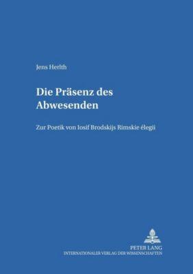 Die Präsenz des Abwesenden, Jens Herlth
