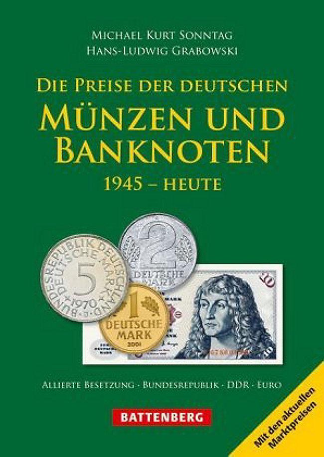 Die Preise Der Deutschen Münzen Und Banknoten Buch Weltbildde