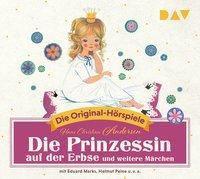 Die Prinzessin auf der Erbse und weitere Märchen, 1 Audio-CD, Hans Christian Andersen