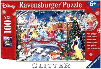 Die Prinzessinnen feiern Weihnachten (Kinderpuzzle)