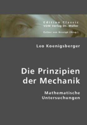 Die Prinzipien der Mechanik, Leo Königsberger