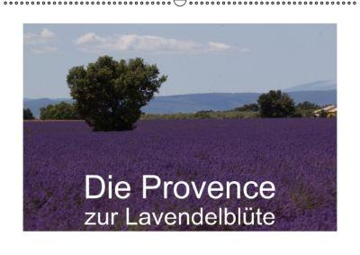 Die Provence zur Lavendelblüte (Wandkalender immerwährend DIN A2 quer), Susanne Schröder