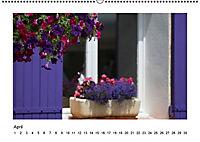 Die Provence zur Lavendelblüte (Wandkalender immerwährend DIN A2 quer) - Produktdetailbild 4
