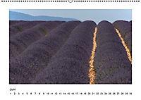 Die Provence zur Lavendelblüte (Wandkalender immerwährend DIN A2 quer) - Produktdetailbild 6