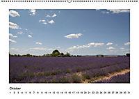 Die Provence zur Lavendelblüte (Wandkalender immerwährend DIN A2 quer) - Produktdetailbild 10