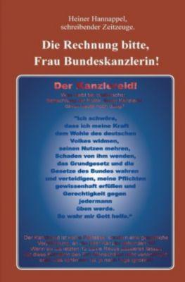 Die Rechnung bitte, Frau Bundeskanzlerin! - Heiner Hannappel pdf epub