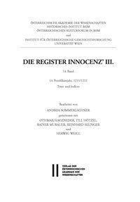 Die Register Innocenz III.