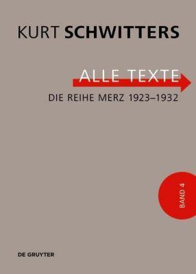 Die Reihe Merz 1923-1932 - Kurt Schwitters pdf epub