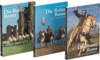 Die Reiter Roms, 3 Bände, Marcus Junkelmann