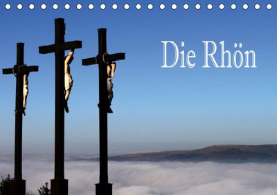 Die Rhön (Tischkalender 2019 DIN A5 quer), Hans Pfleger