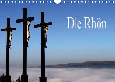 Die Rhön (Wandkalender 2019 DIN A4 quer), Hans Pfleger