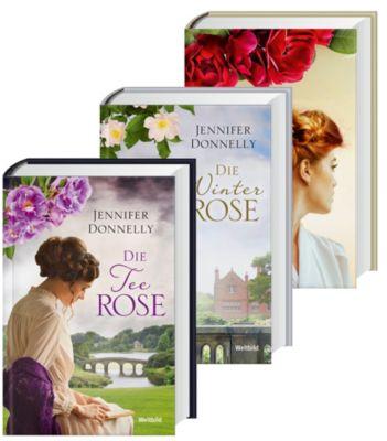 Die Rosentrilogie Die Teerose/Die Winterrose/Die Wildrose, Jennifer Donnelly