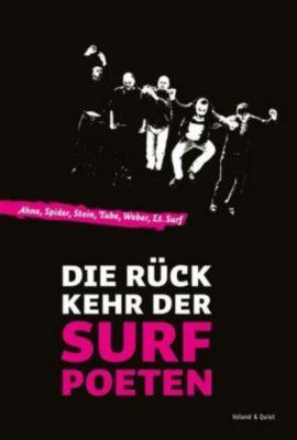 """Die Rückkehr der Surfpoeten,  m. Audio-CD, Ahne, Spider, Stein, """"Tube"""" Tobias Herre, Robert Weber"""