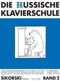 Die Russische Klavierschule, m. 2 Audio-CDs, Alexander Nikolajew